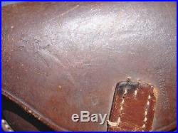 German P-08 Luger Brown Holster Made In Germany 1920 Export
