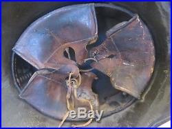 German WW2 1933 Luftwaffe Airforce Helmet M35/M42 Steel 3rd Reich Flag & Eagle