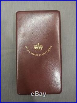 Grand Officer Order of Saint Olav Norway