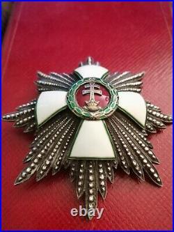 Grand cross Order of Merit Hungary