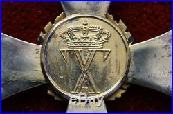 Greece Greek Order Phoenix King George Commander Badge Cross Medal By Zimmermann