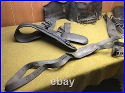 Harness SADDLE & Breast COLLAR M1927, Machine Gun Cart 37mm howitzer