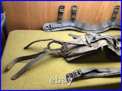 Harness SADDLE & Breast COLLAR M1927, Machine Gun Cart 37mm howitzer Unit Mrkd