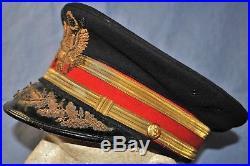 ID'd 1930's Field Grade Artillery Officer's Visor Cap