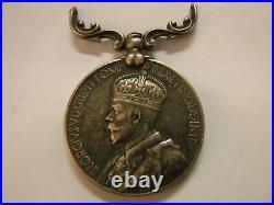 India General Service Medal 1930-1935 Named 7498 Sepoy Mir, 2-12 F. F. R