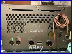 Ingelen 540W tube radio from 1940 (Austria) Österreich Art deco Bauhaus