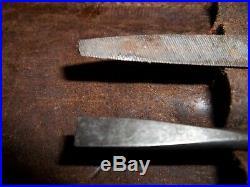 Inspectors Pocket Kit Signal Corps US Army Knife, Pliers, Scissors RARE VTG 6-SET