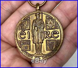 Ireland 1921 Carlow Brigade Black Tan Service & Truce Survivals Medal IRA Named
