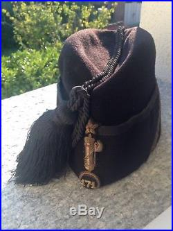 Italian Fascist 171 Palermo Legion Fez Hat Cap Insignia Milizia Mvsn Pnf Militia