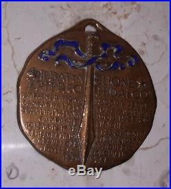 Italian medal of Eritrean Hidalgo Battalion Mussolini, 1938