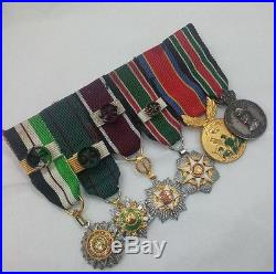 Jordan Star Chest Bar 6Medal Order Renaissance Independence Merit Ramadan Kippur