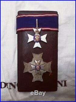 KCVO Order of Victoria Cased