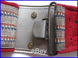 KINGDOM YUGOSLAVIA, OFFICERS BELT WITH BUCKLE, original item