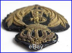 Kingdom of Yugoslavia Navy cap badge Alexsander I. Karageorgevic 1931
