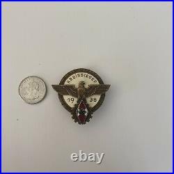 Kreissieger 1938 Hitler Youth Badge/Medal WW2 Known History