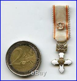Lithuania Order Vytautas Officer Miniature