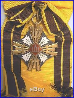 LITHUANIA, REPUBLIC, LITHUANIAN ORDER OF GEDIMINAS, GRAND CROSS, 1st class, Type I