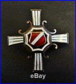 Latvia Military Badge Medal, Latvian Riflemen Regiment Troicka Strelnieki Rare