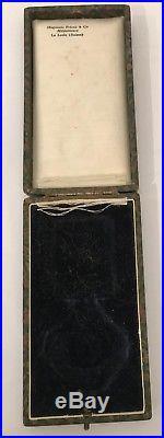 Lithuania Gediminas order 4th class 2nd issue in original box Litauen Huguenin