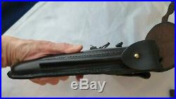 Luger Navy Holster 1920's Conversion to Police Belt Loop instead of straps