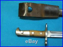 M1918 Elsener Schwyz Swiss Schmidt-rubin K31 Rifle Blade Bayonet & Scabbard
