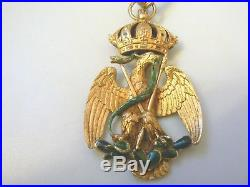 MEXICO, KINGDOM IMPERIAL ORDER OF THE EAGLE, COMMANDER, 1890s, extremely rare