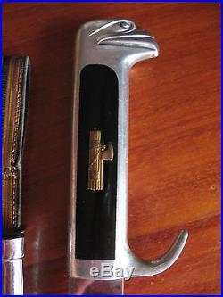 Mvsn Pugnale Testa D'aquila Ufficiale Fascist Dagger Italian Knife Ww2