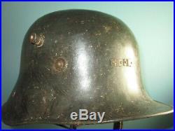Marked Irish Eire Vickers marked 1926 helmet casque casco stahlhelm elmo
