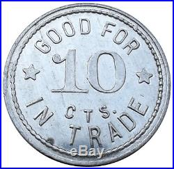Montana Trade Token Fort Missoula Post Barber Shop (was CCC HQ 1930s) Military