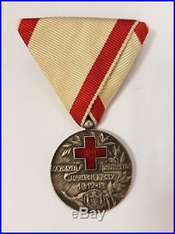 Montenegro. 2 original Red Cross awards