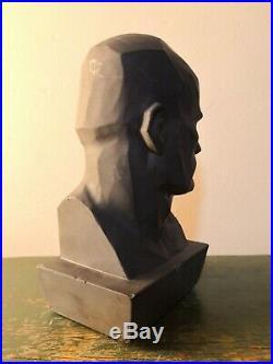 Mussolini Bust Futurism Ultra Rare Busto Futurismo