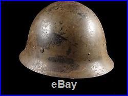 Nice Japanese Combat Helmet Wwii