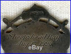 Named Ca. 1920 US Volunteer Life Saving Corps (USVLSC) Sterling Medal