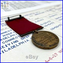 Named Wwi 1920 Us Navy Good Conduct Medal Venanico Flores Battleship Musician