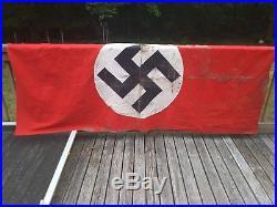 Nazi germany flag ww2 silk swastika