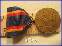 Nice USN Yangtze Service Campaign Medal, M. No. Numbered Medal NR