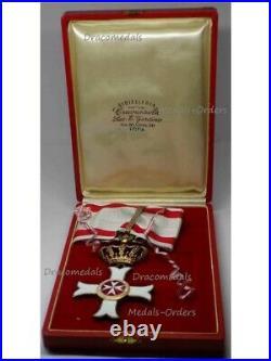 ORder St John Commander Cross Military Merit Knights Malta Jerusalem Rhodes 1920
