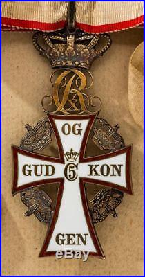 Order of Danneborg Commander's Neck Badge