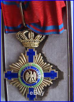 Order of Romanian Star Commandeur