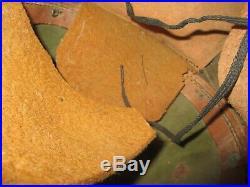 Orig. Dutch 1940 M38R helmet Stahlhelm casque casco elmo Kask WW2