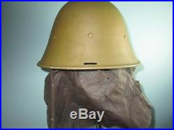 Orig Dutch Indonesian M38 KNIL helmet MILSCO casque stahlhelm casco Kask