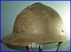 Orig Peruvian M26 adrian helmet Perou WW2 casque stahlhelm casco elmo 2WK