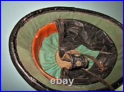 Orig WW2 Belgian M38 army moto helmet polize casque stahlhelm casco elmo