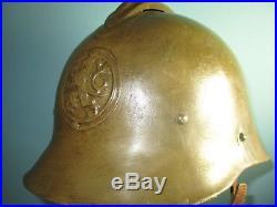 Orig compl Czechoslowakian M25-30 helmet casque stahlhelm casco elmo Kask