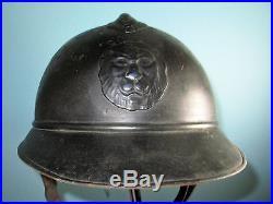 Orig untouched rare M20 Belgian adrian helmet casque Stahlhelm casco elmo