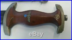 Original 1933 SA Dagger / Rare Make Remscheid C. & Co. REMEVE Solingen-Aufderhoh