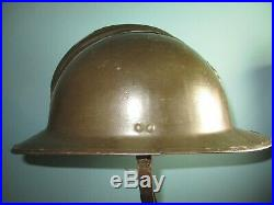 Original Belgian M31 adrian ABBL helmet casque Stahlhelm casco elmo WW xx