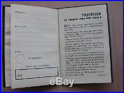 Original Fascist Card Tessera Sottufficiali Mvsn Perfetta Mai Compilata Cc. Nn