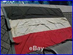 Original Large Pre Wwii German Tri-color Flag