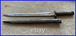 Original M1924 Yugoslavian Mauser Bayonet with Scabbard BT3